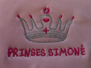 Personalised baby clothing